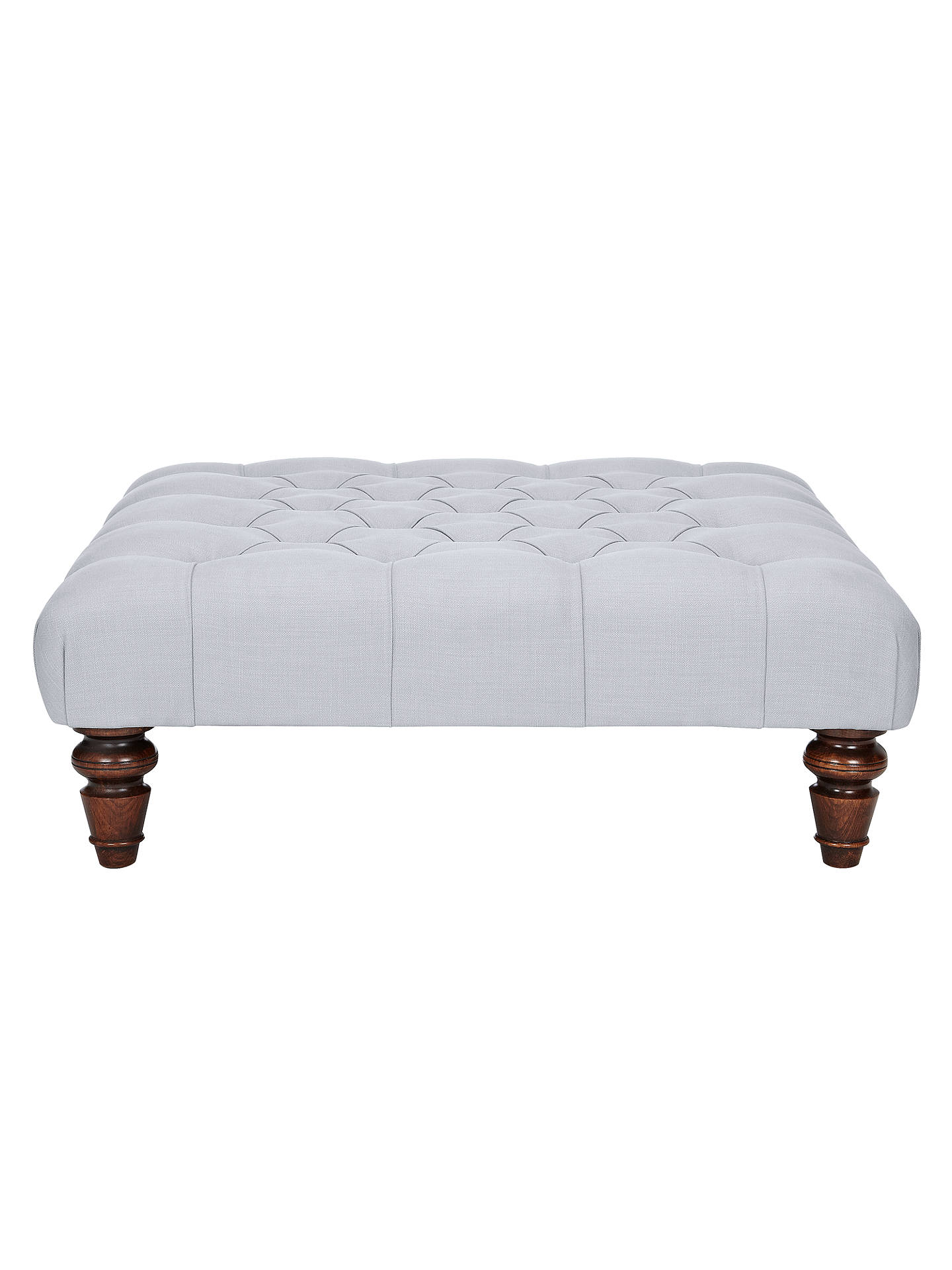 Buy John Lewis Stanford Semi-Aniline Footstool, Hand Antiqued Online at johnlewis.com