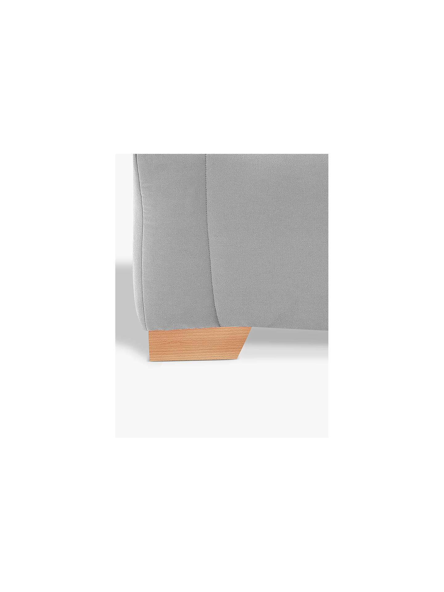 585ce13ae586 ... Buy John Lewis & Partners Strauss Large 3 Seater Sofa Bed, Light Leg,  Fraser ...