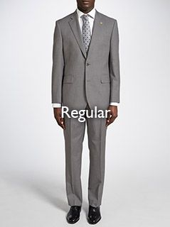Regular fitting suits