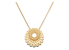 Kit Heath Gold Plated Chantilly Necklace