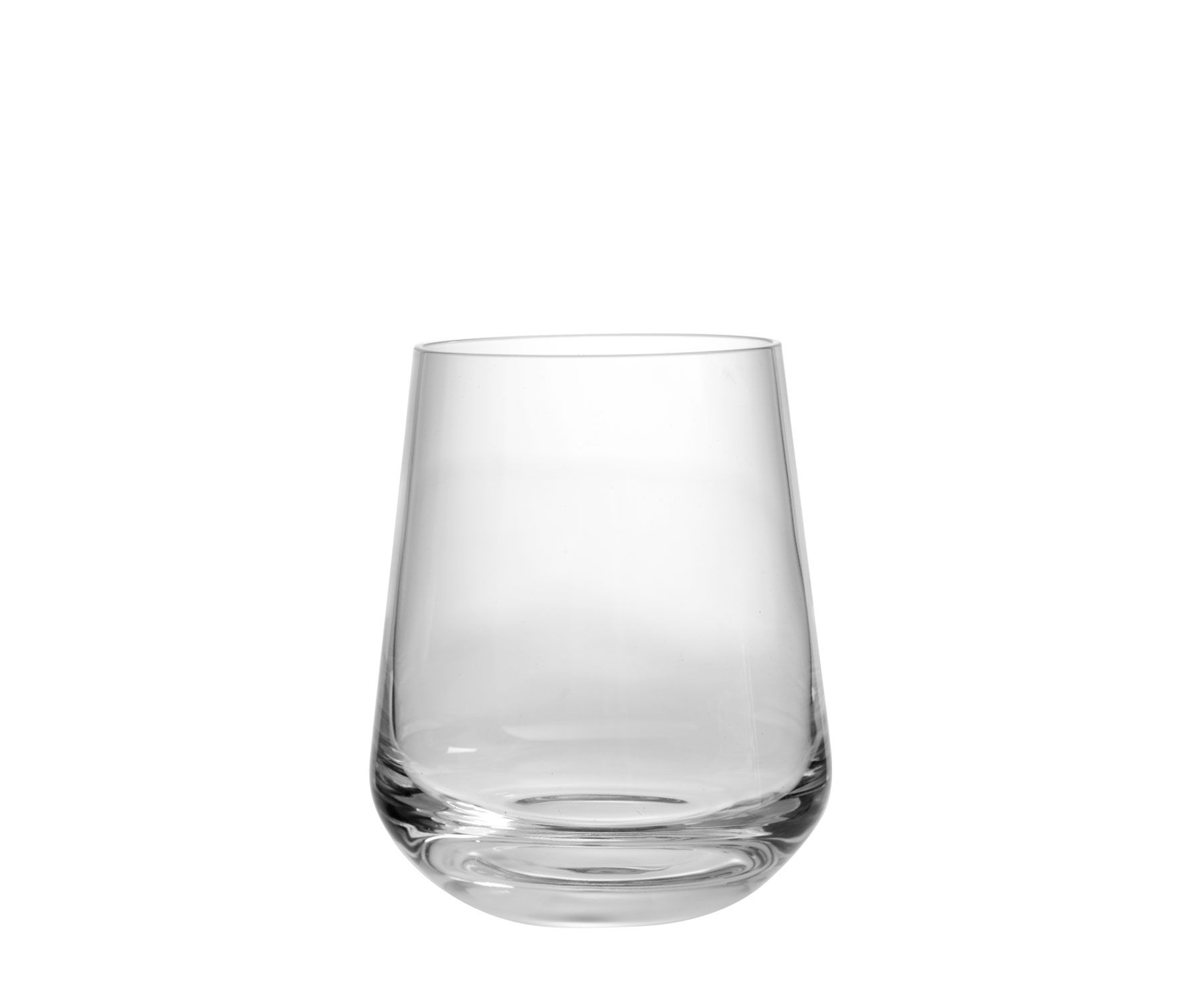 tumblers and highball glasses