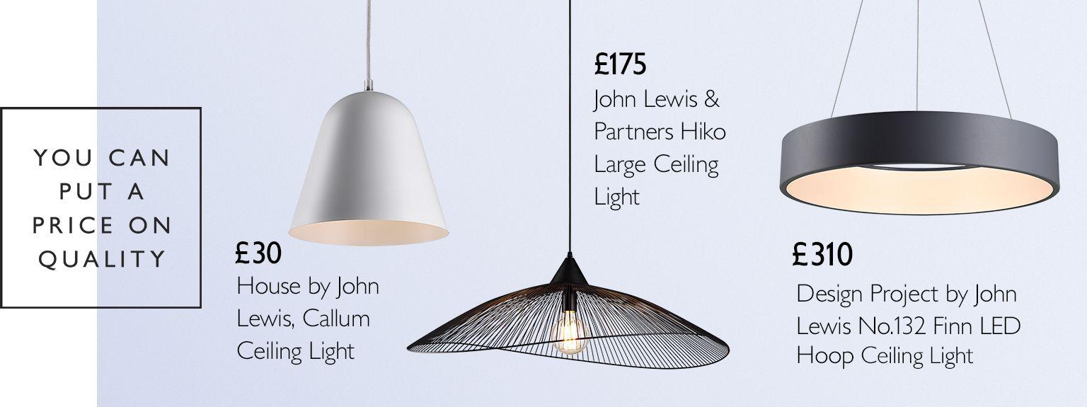 Lighting  Light Fittings & Fixtures  John Lewis & Partners