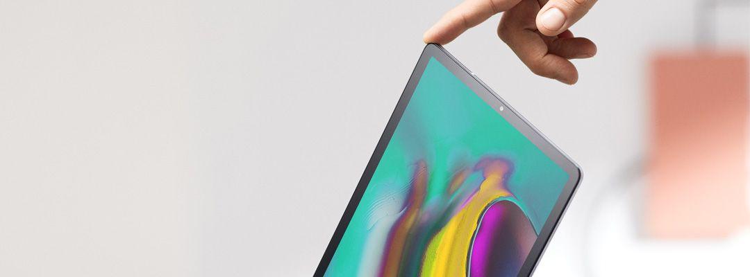 Tablet set-up