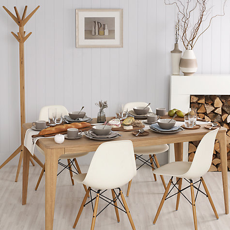 Buy Ebbe Gehl For John Lewis Mira 6 Seater Dining Table Online At Johnlewis