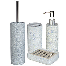 Buy House by John Lewis Terrazzo Bathroom Accessories  Online at johnlewis.com