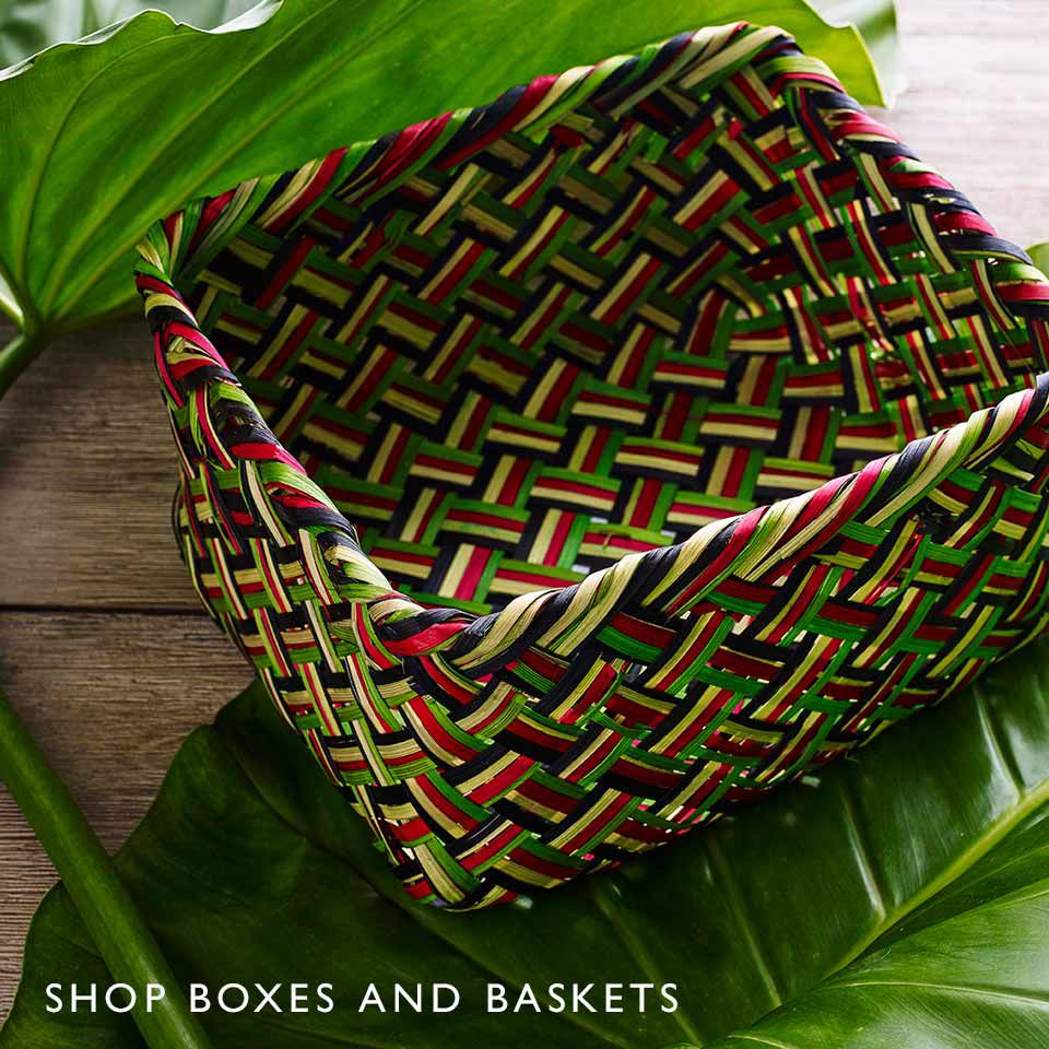 Shop Boxes and Baskets