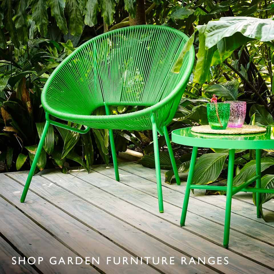 Shop Garden Furniture Ranges