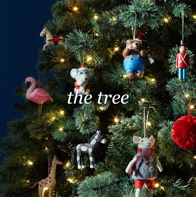 The Grand Tour Christmas Tree Decorations