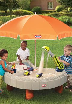 Little Tikes Builder%27s Bay Sand and Water Table