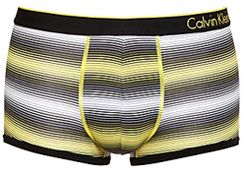 Calvin Klein Underwear ck one stripe pattern trunks