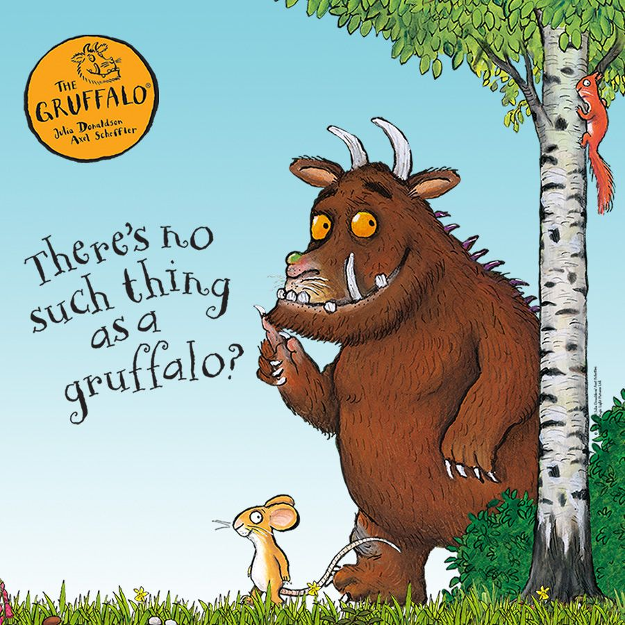 Julia Donaldson - The gruffalo book
