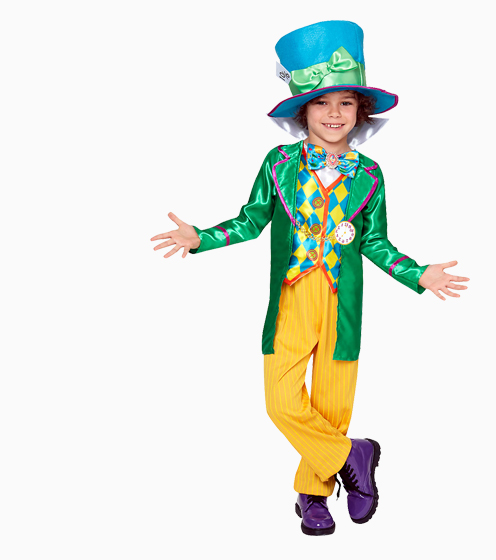 All Dressed Up - Boy in Mad Hatter costume