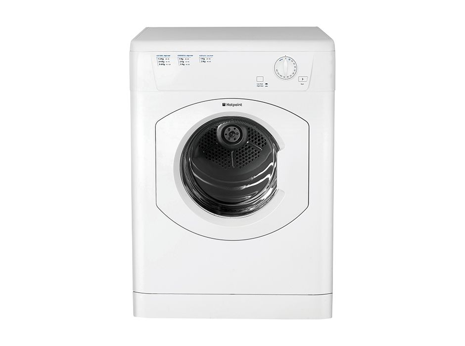 An example of a vented  tumble dryer
