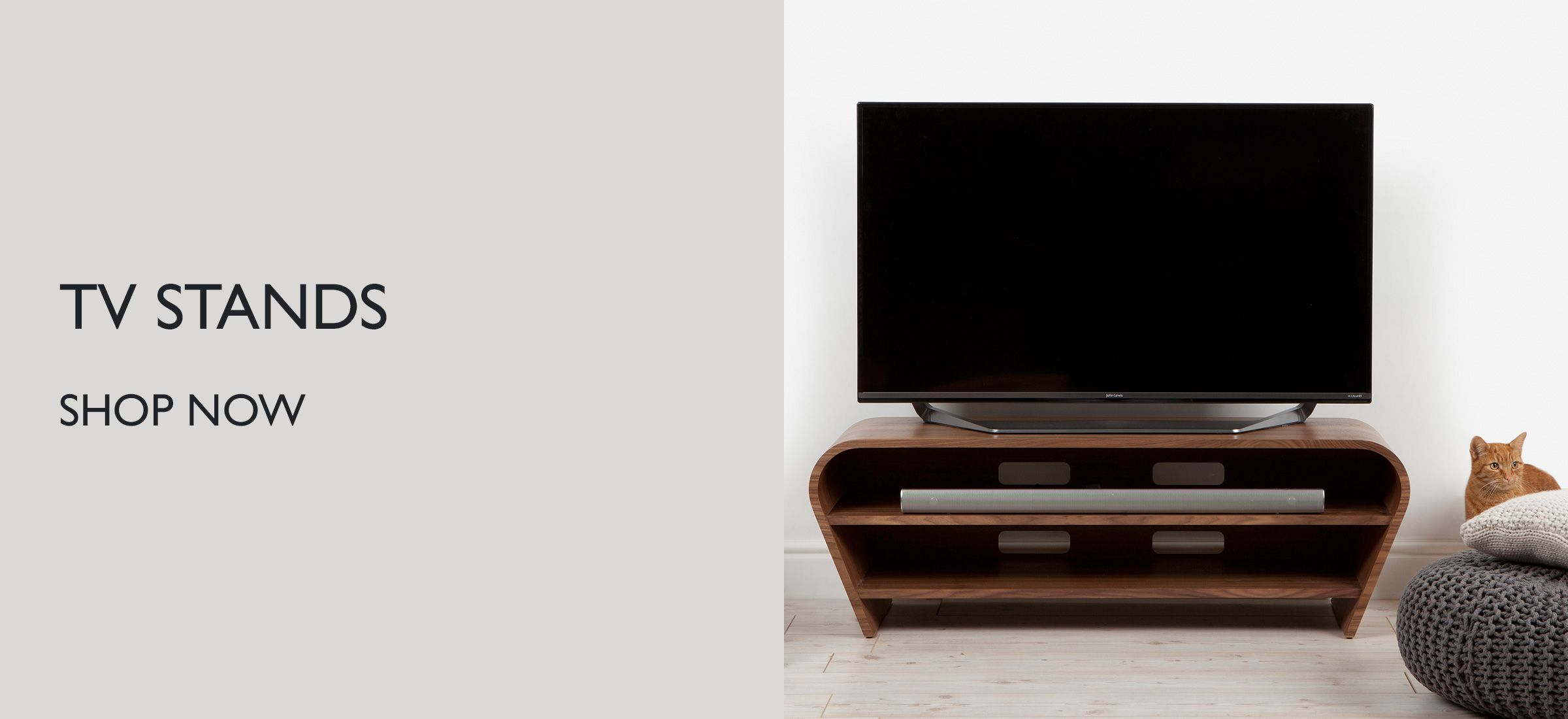 Tv Stands Wall Mounts Accessories John Lewis Partners Wiring Solutions Uk View Television Buying Guide