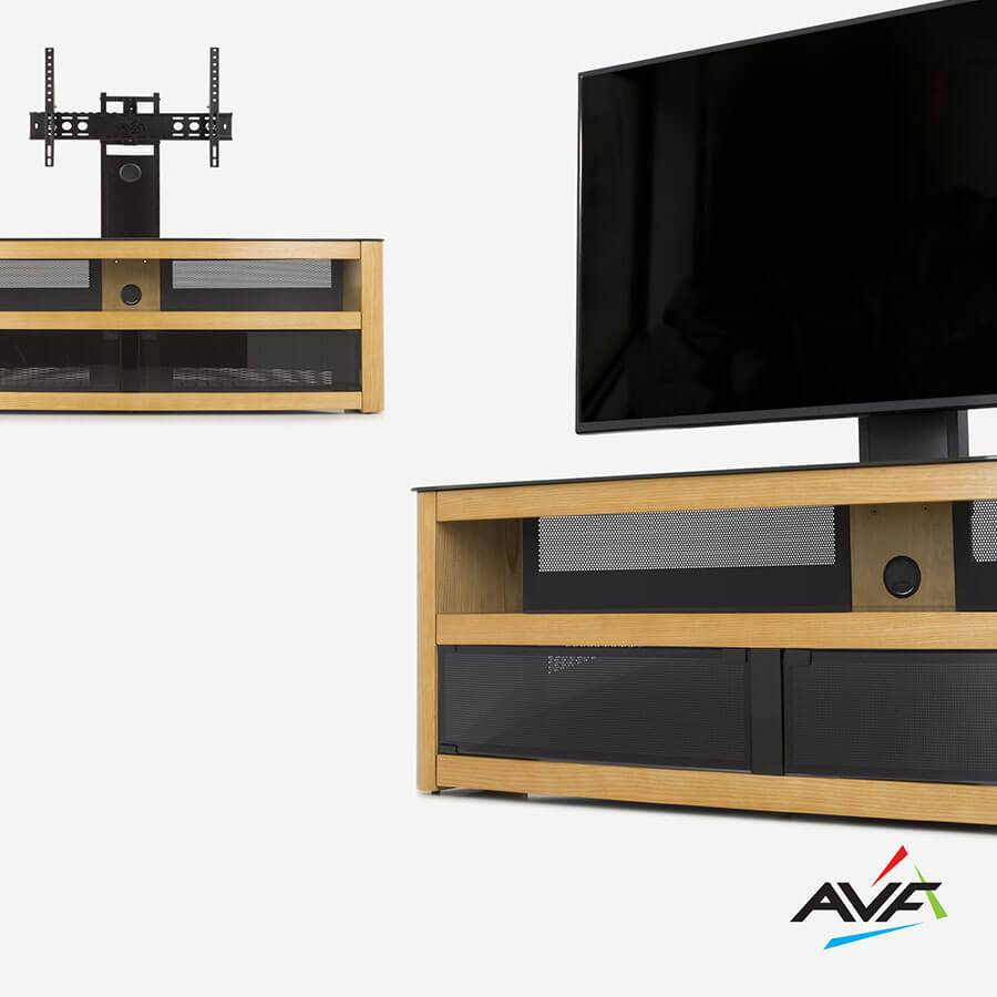 Raise, secure, tilt and turn your TV