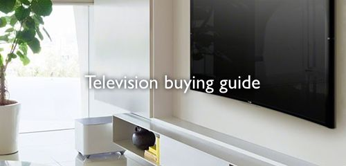 Television buying guide