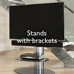 Stands with brackets