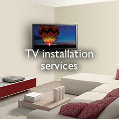 TV installation services