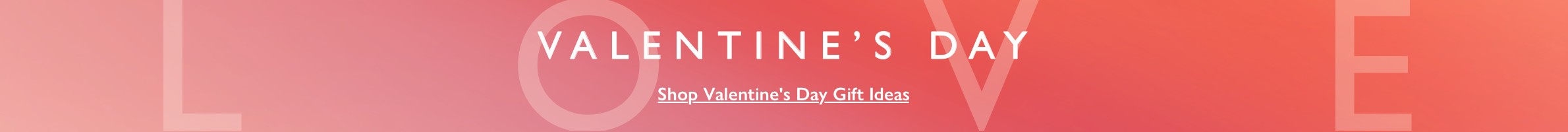 Valentines Day - Friday 14 February