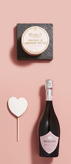 Valentine's Gift food & Alcohol