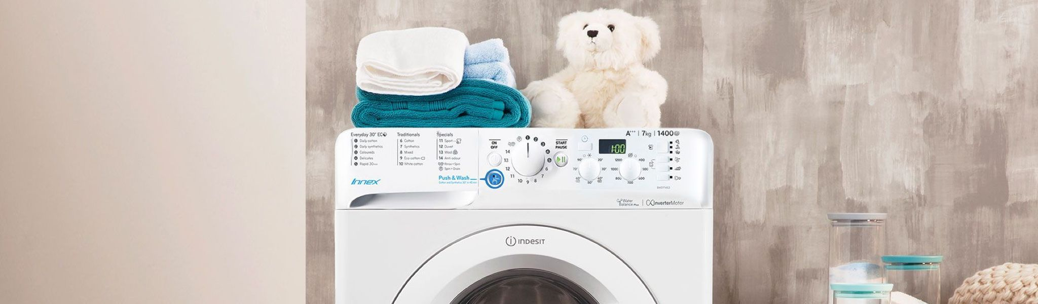 Troubleshooting your washing machine