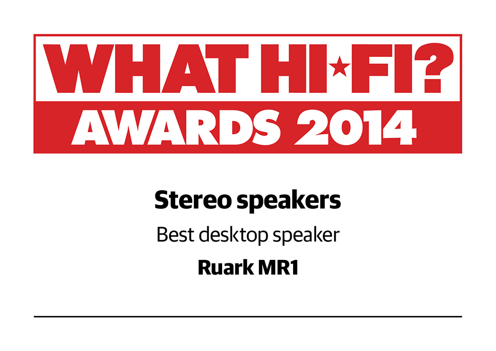 What Hi_Fi Awards 2014 Stereo Speakers - Best Desktop Speakers