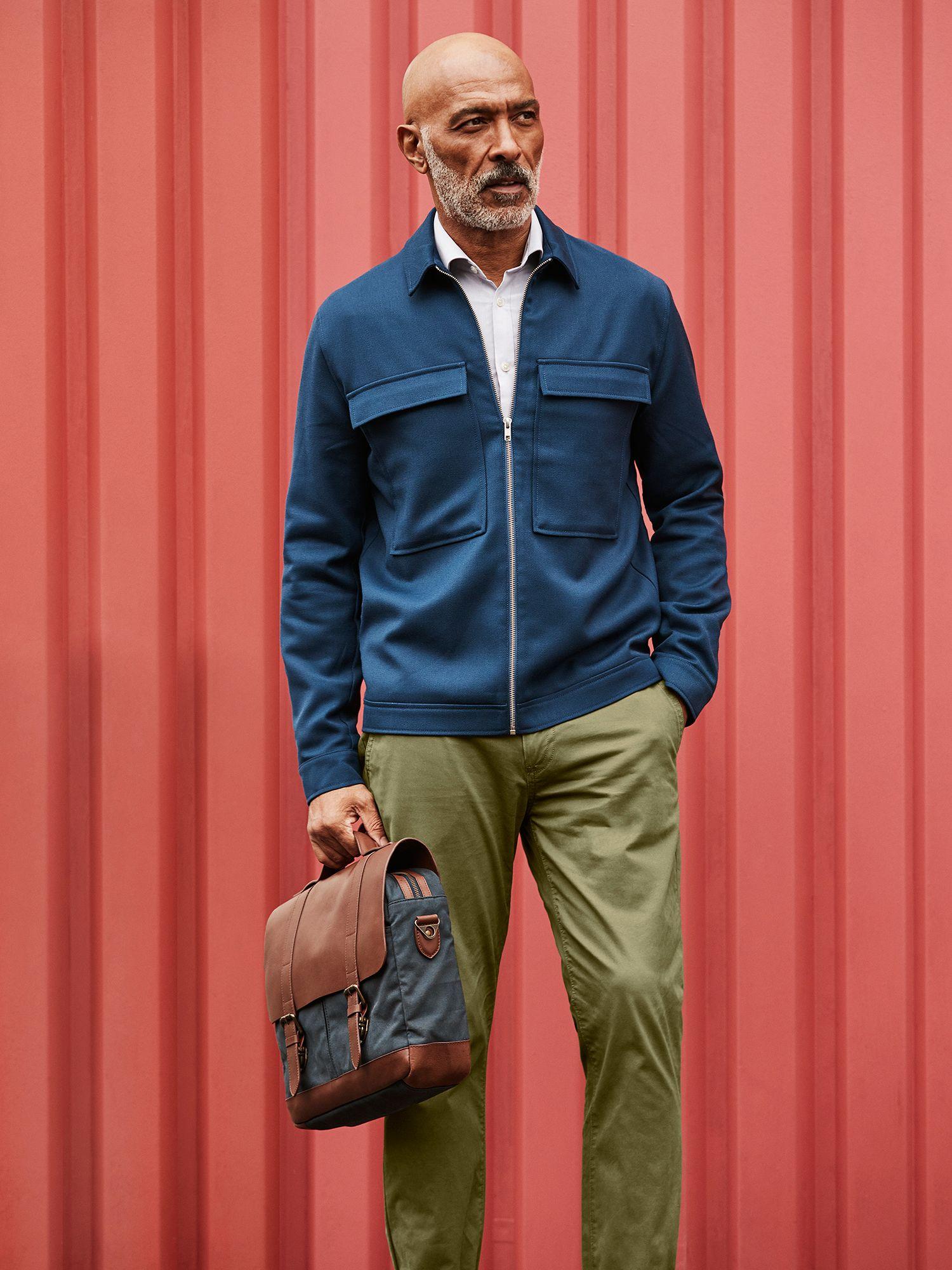 Men's khaki trousers