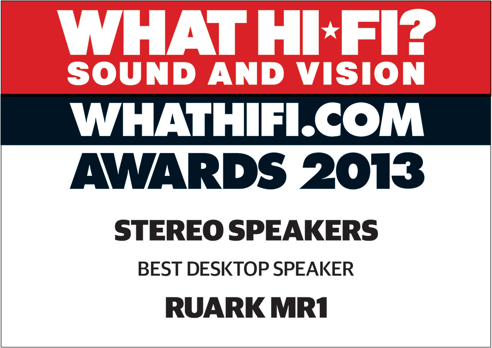 What Hi-Fi Sound and Vision - Awards 2013 Stereo Speakers