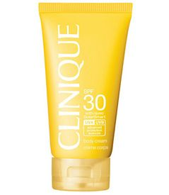 Clinique's Body Cream SPF 30