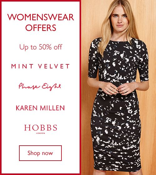 Womenswear Offers - Up to 50% Off