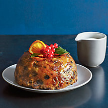 Christmas pudding by Richard Bertinet