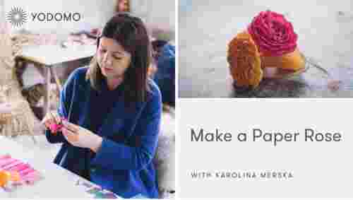 Easy-to-make paper roses