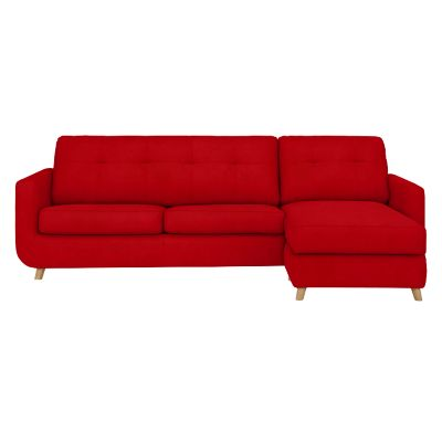 John Lewis & Partners Barbican RHF Chaise Sofa Bed with Storage