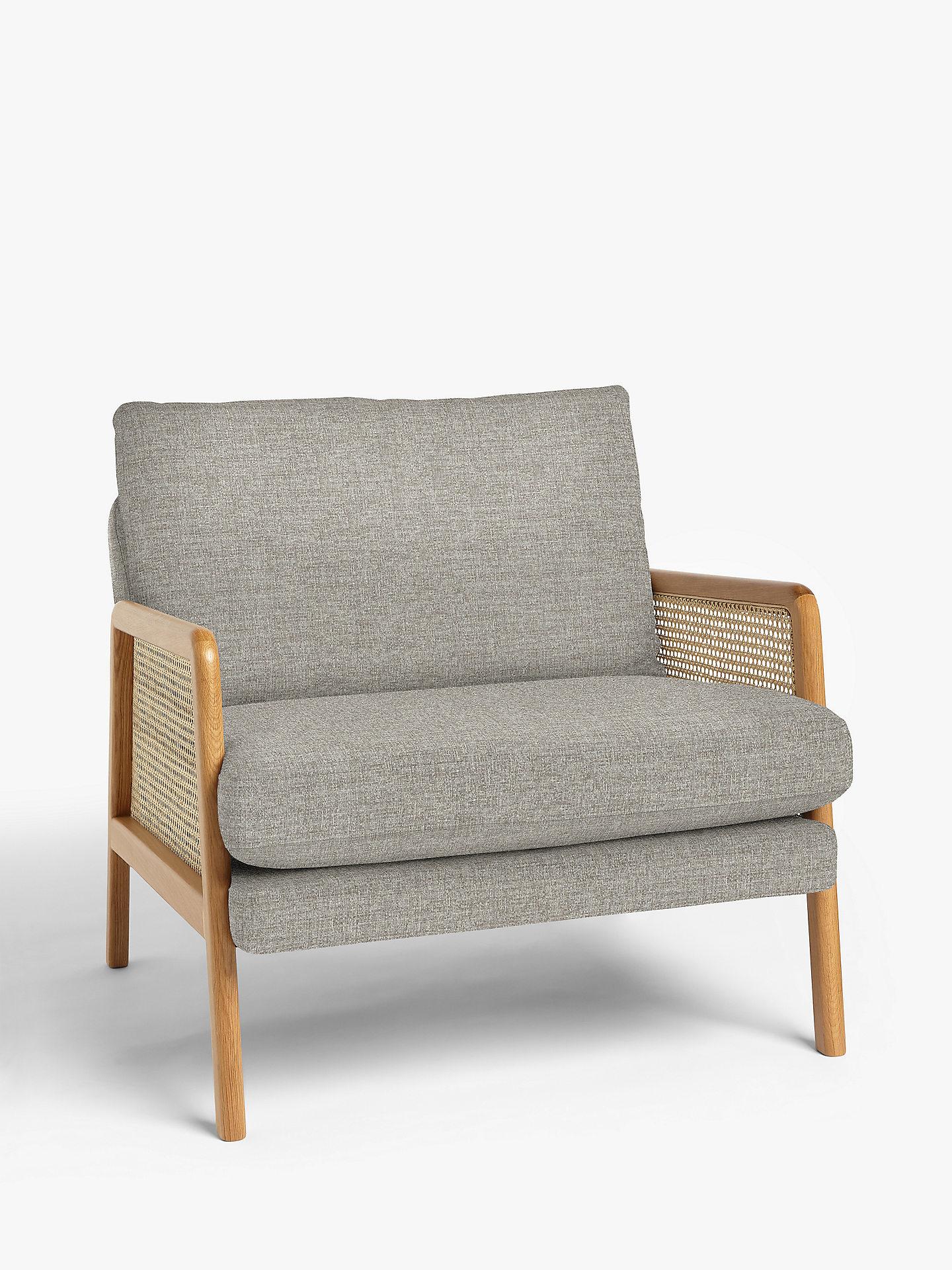 Buy John Lewis & Partners Cane Accent Armchair, Light Leg Online at johnlewis.com