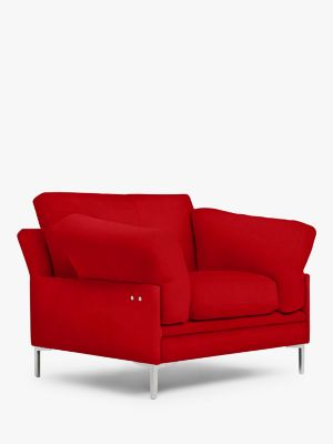John Lewis & Partners Java II Motion Armchair with Footrest Mechanism, Metal Leg
