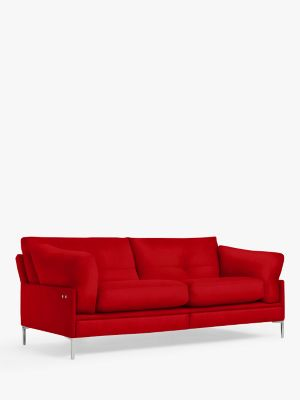 John Lewis & Partners Java II Motion Large 3 Seater Sofa with Footrest Mechanism, Metal Leg