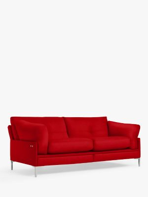 John Lewis & Partners Java II Motion Medium 2 Seater Sofa with Footrest Mechanism, Metal Leg
