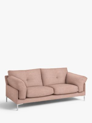 John Lewis & Partners Java II Large 3 Seater Sofa, Metal Leg