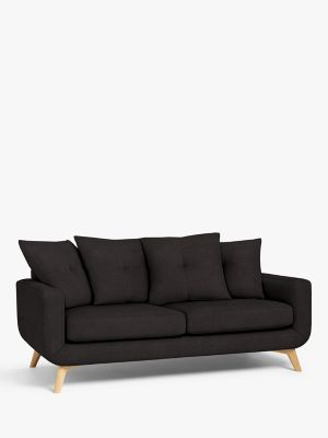 John Lewis & Partners Barbican Pillow Back Large 3 Seater Sofa