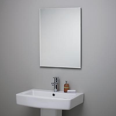 John Lewis Bevelled Edge Bathroom Mirror
