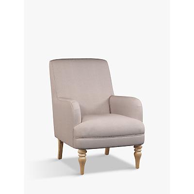 John Lewis Sterling Armchair, Light Leg, Edie Dusky Pink