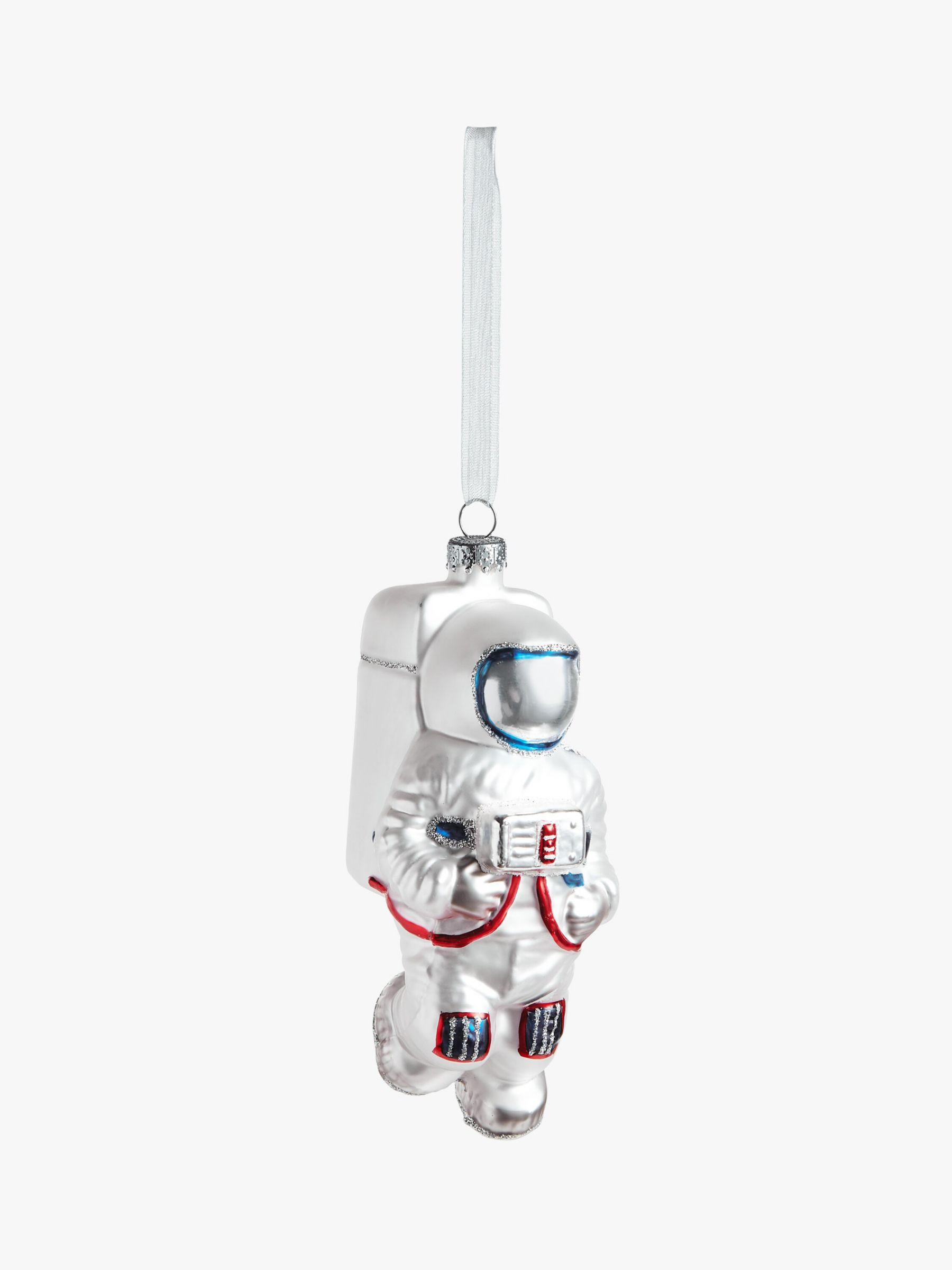 John Lewis & Partners ABC Astronaut Tim Bauble