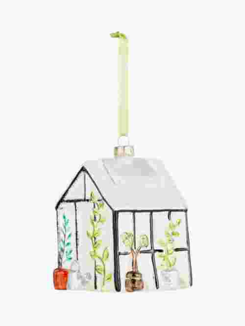 John Lewis & Partners Garden Retreat Greenhouse Bauble, Multi