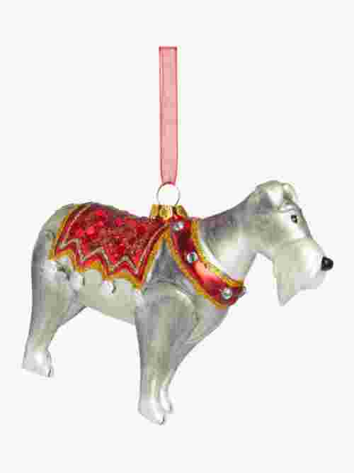 John Lewis & Partners Traditions Schnauzer Bauble, Multi