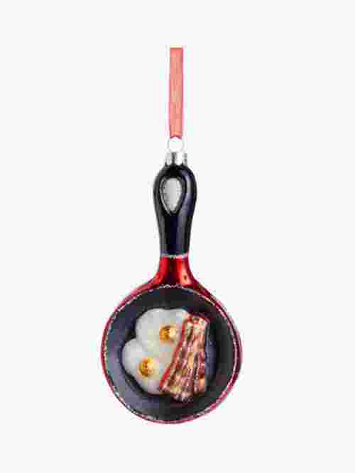 John Lewis & Partners Traditions Fry-Up Bauble, Multi