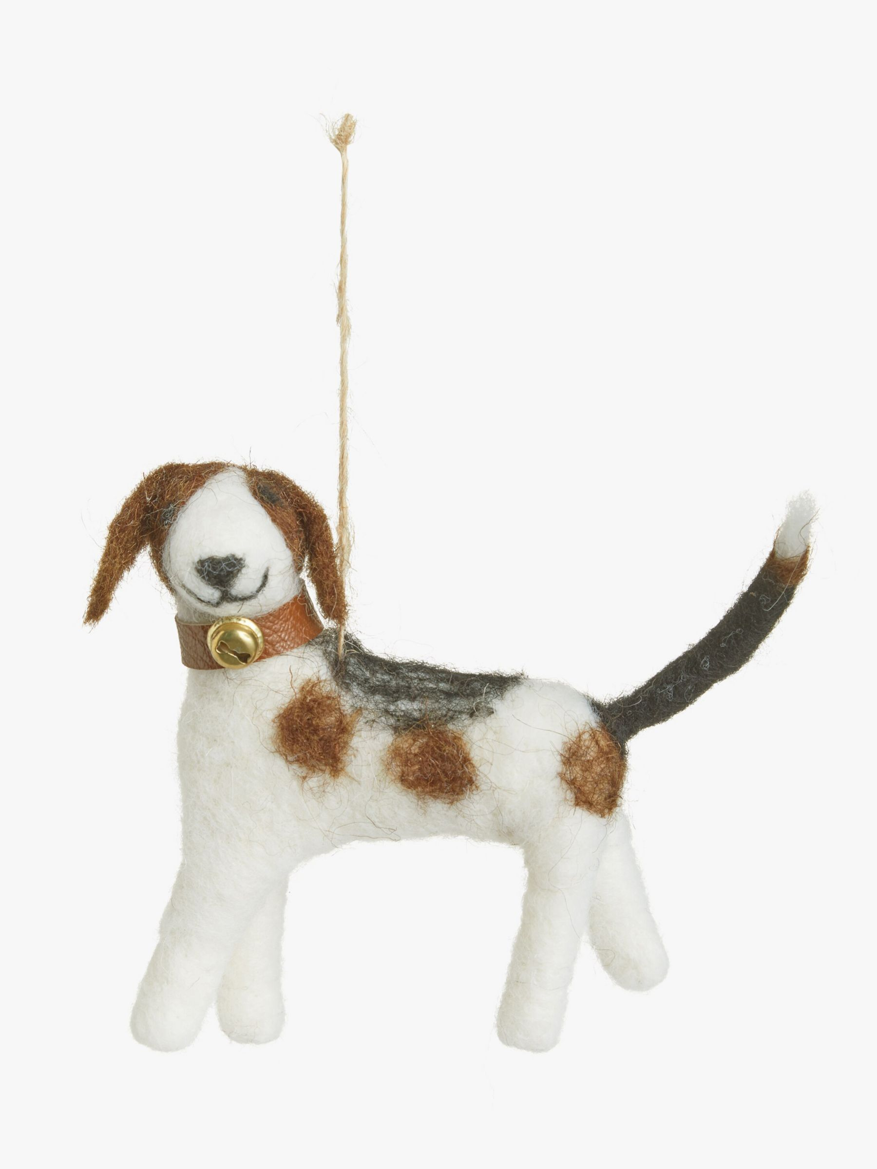 John Lewis & Partners Campfire Highland Dog Tree Decoration