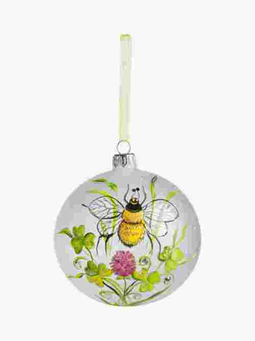 John Lewis & Partners Garden Retreat Painted Bee Bauble, Multi