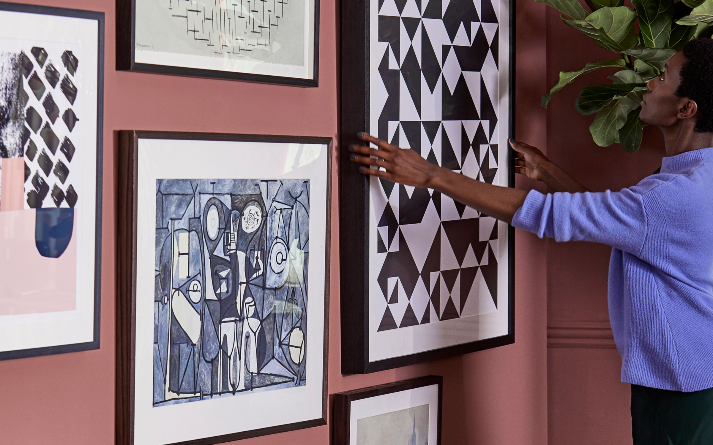 How To Hang A Gallery Wall John Lewis Partners