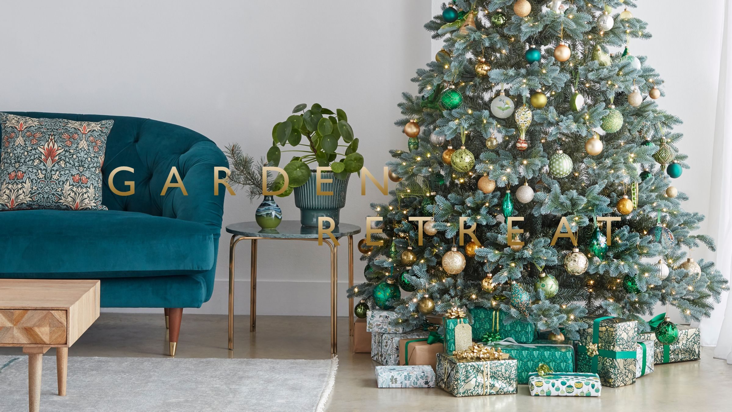 Christmas Trends - Garden Retreat