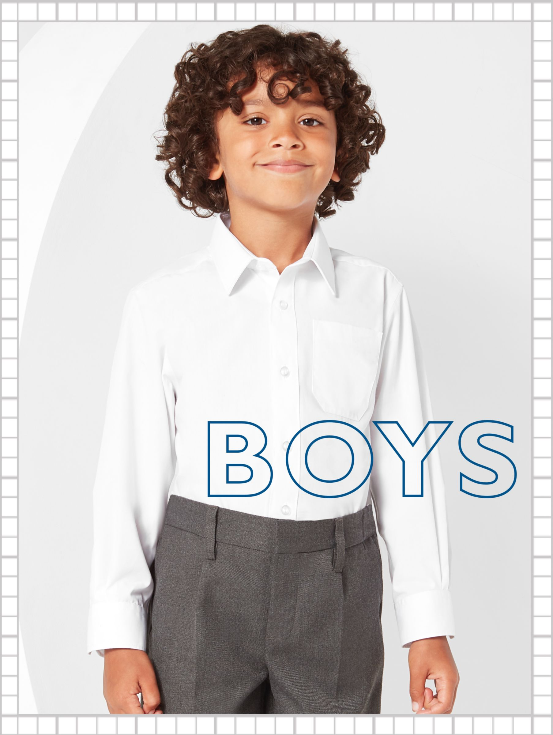 3982bce853b8 School Uniform | School Shoes & Bags | John Lewis & Partners